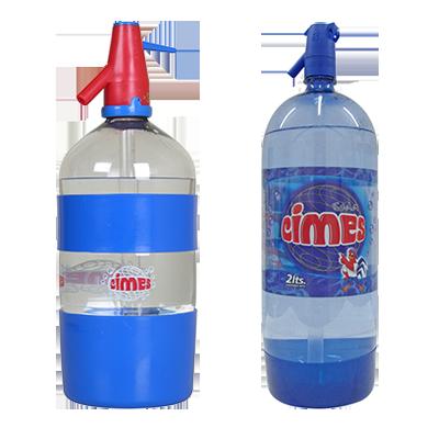 Soda en sifones Retornable 1/2, 1,1/4 1,1/2 litros / Soda Descartable