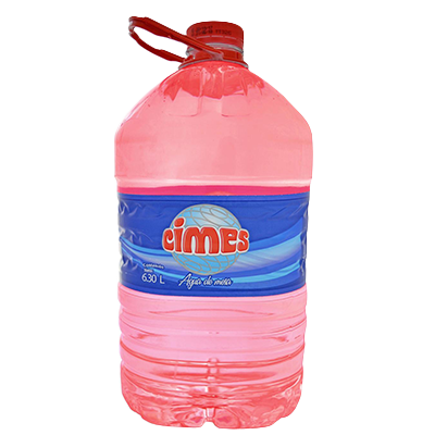 Agua en botellones descartables de 6, 8, 10  y 12 litros